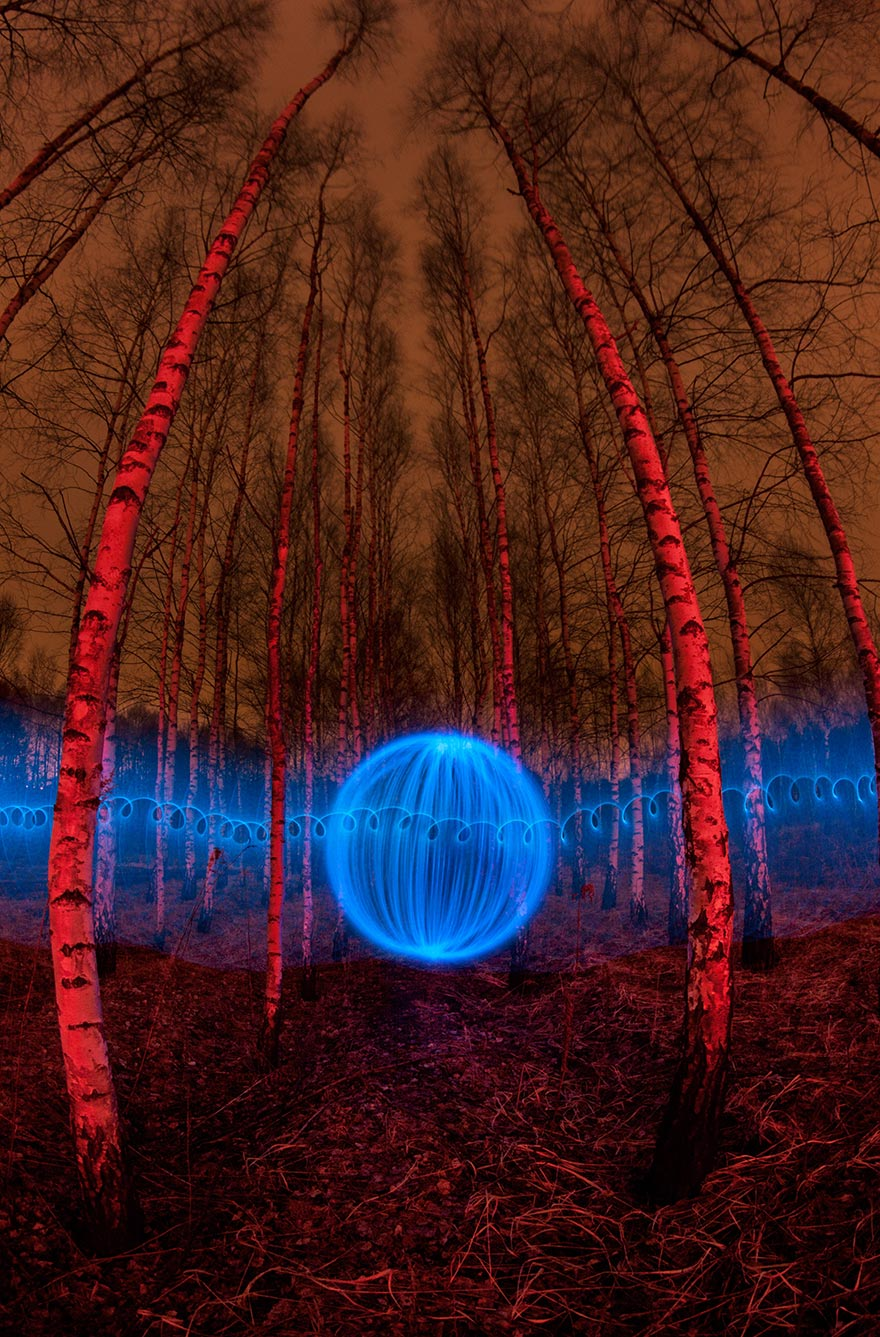 Orb in the woodz